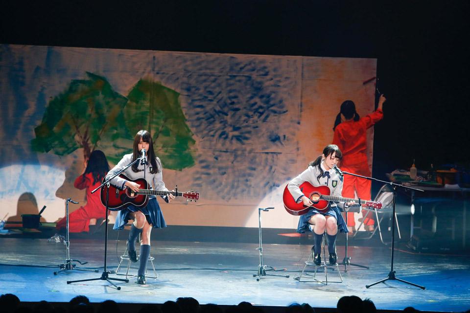 欅坂46 新春!おもてなし会 今泉佑唯 小林由依