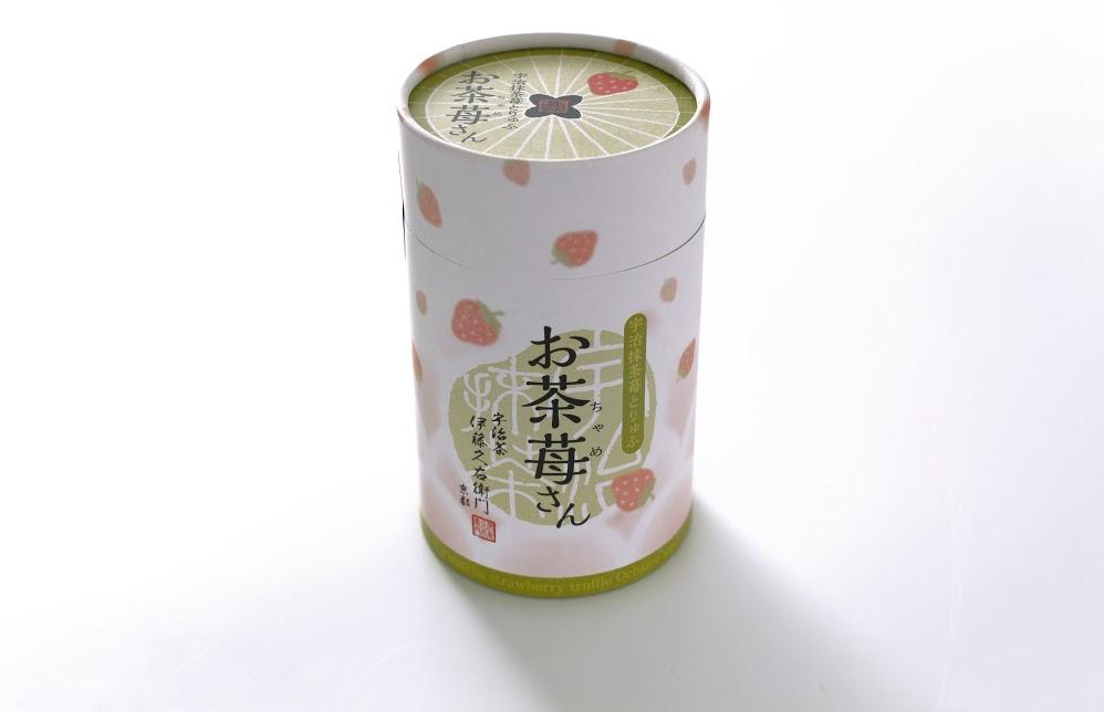 宇治抹茶苺とりゅふ お茶苺さん パッケージ