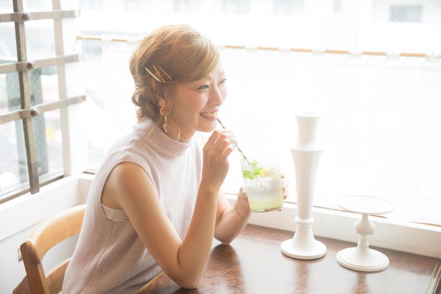 工藤由布-ふんわりまとめ髪@Date-YU-Uヘアアレンジ