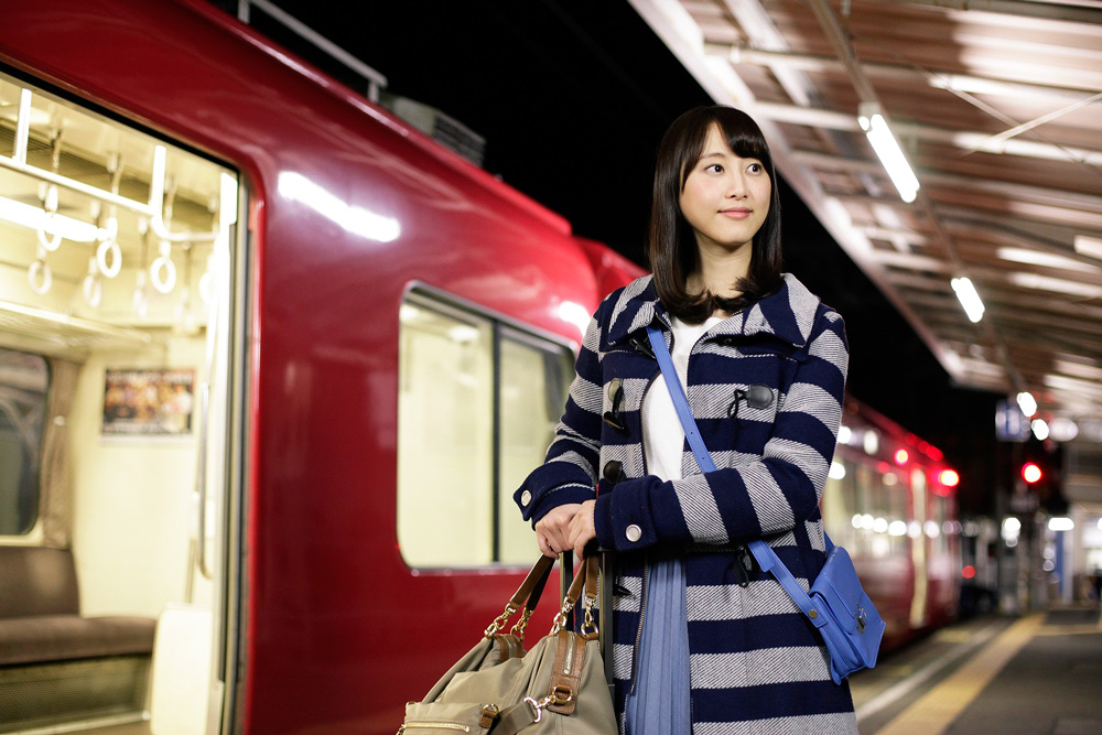 松井玲奈-メ~テレドラマ「名古屋行き最終列車」