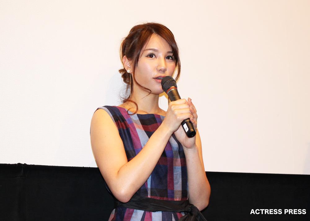 AKB48-鈴木まりや-映画-口裂け女-舞台挨拶