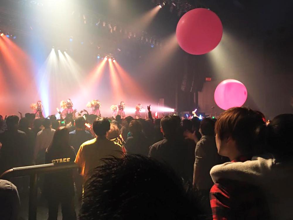 アイドル教室-Zepp名古屋ワンマンライブ-風船
