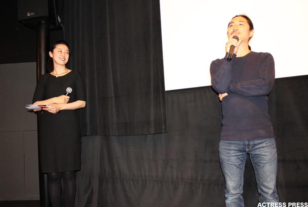 小川和也監督-映画-口裂け女-舞台挨拶