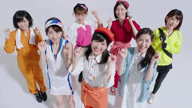 AKB48 神7 制服 バイトルCM