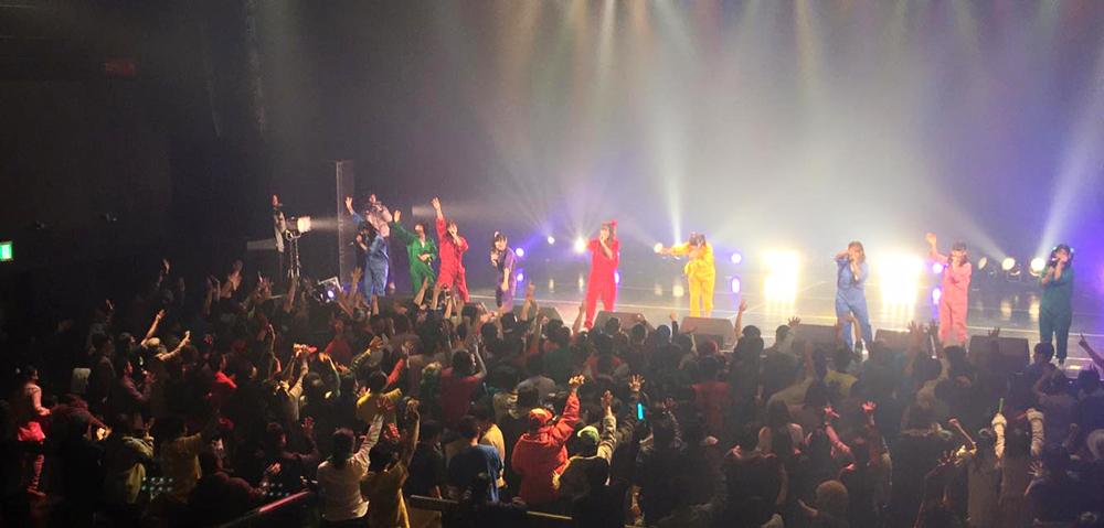 アイドル教室-Zepp名古屋ワンマンライブ-ステージ