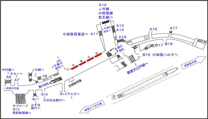 びんむすめプロジェクト-新宿駅-超大型広告掲示場所