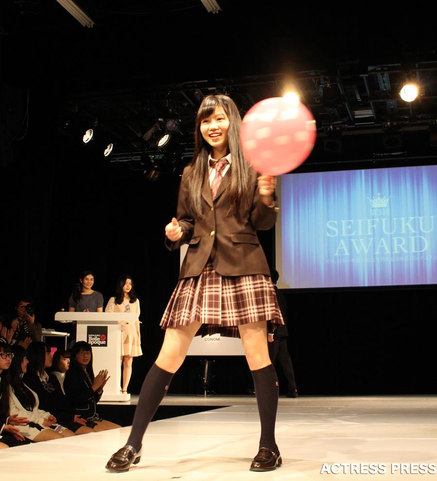 長崎すみれ-CONOMi制服アワード2016風船