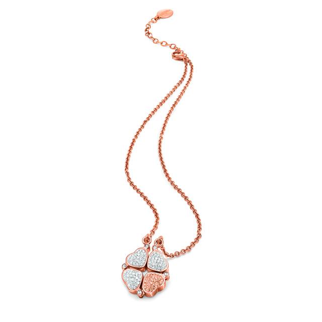 follifollie-HEART4HEART-NECKLACE