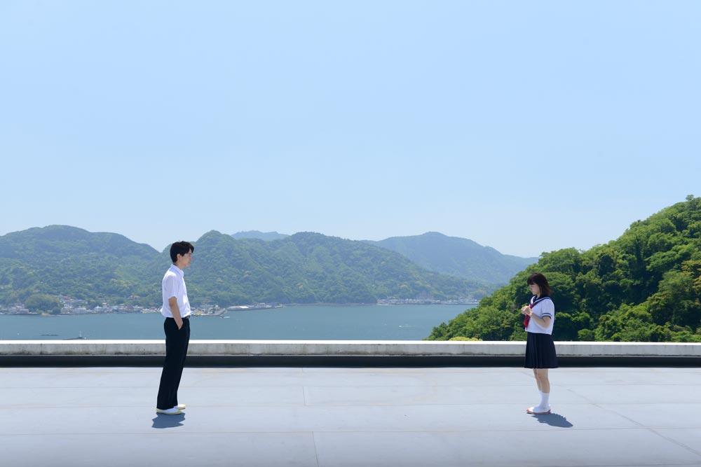 山本舞香-浅香航大-桜ノ雨-屋上シーン