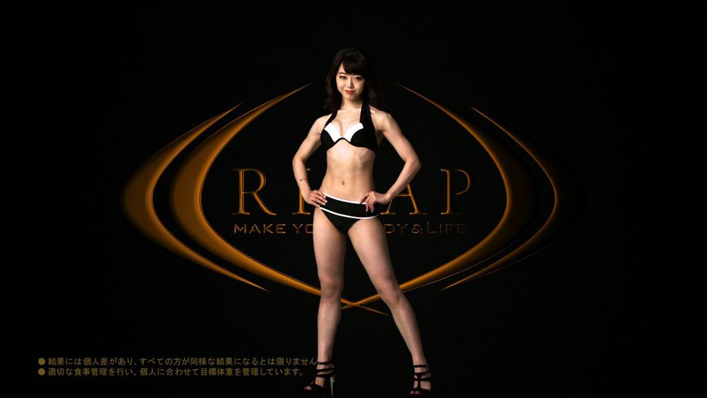峯岸みなみ-RIZAP-CM