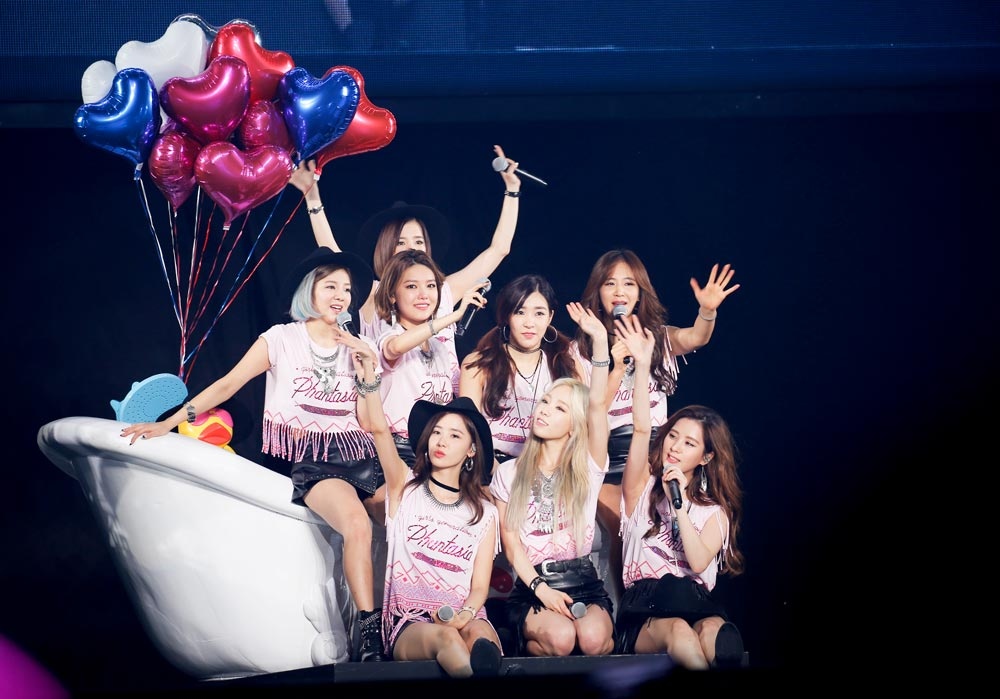 少女時代 GIRLS'GENERATION 4th TOUR-Phantasia-in JAPAN 風船