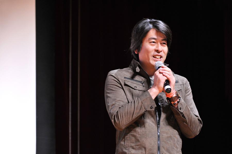 渡邊世紀監督-映画-未来のカケラ-完成特別上映会