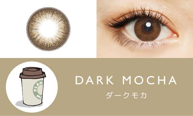 DARK-MOCHA-ダークモカ-1DAYカラーコンタクトレンズFLANMY