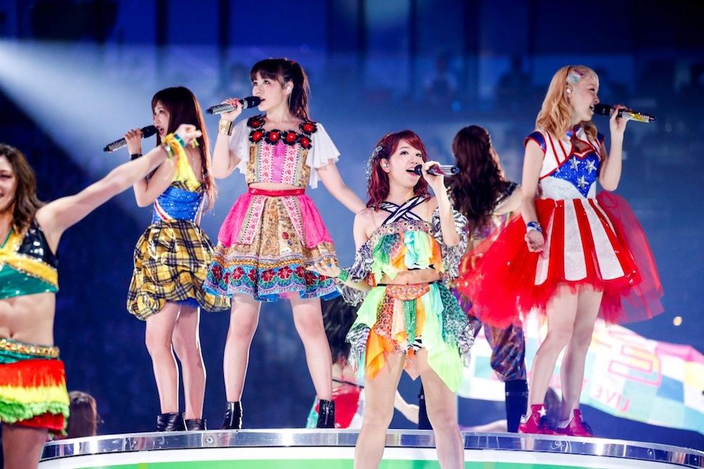 E-girls-DAM-LIVEカラオケ