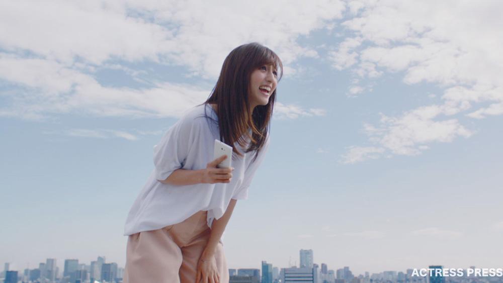 堀田茜 UQ mobileのぴったりプラン CM