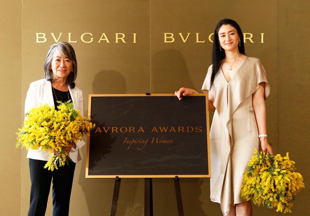 小雪 BVLGARI AVRORA AWARDS(ブルガリ アウローラ アワード)2016