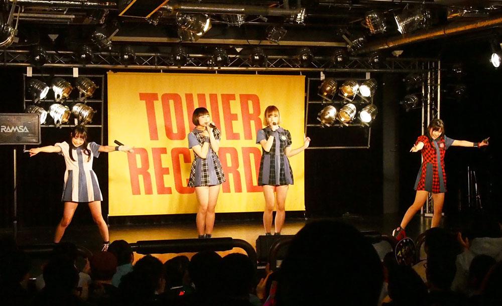 マボロシ可憐GeNE・タワーレコード渋谷店 ライブ2016年3月27日