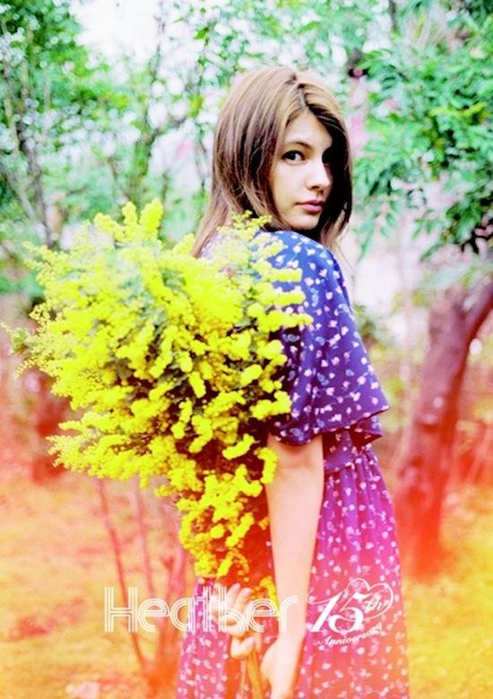 マギー Heather(ヘザー)のイメージモデル