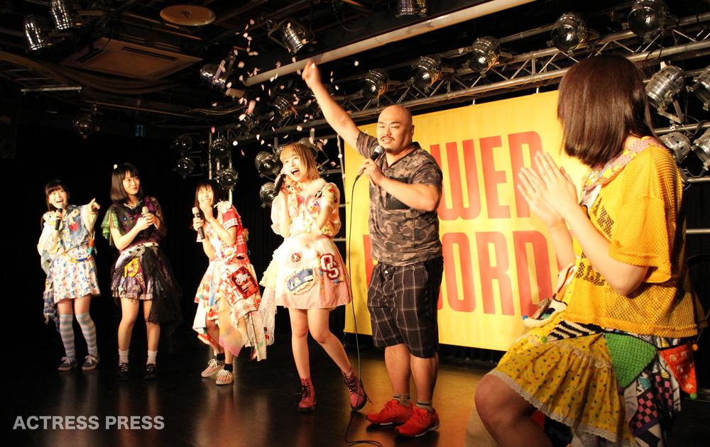 まねきケチャ・クロちゃん・タワーレコード渋谷店 ライブ 2016年3月21日