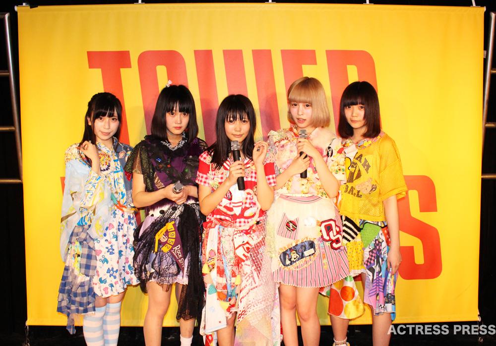 まねきケチャ・タワーレコード渋谷店 ライブ 2016年3月21日
