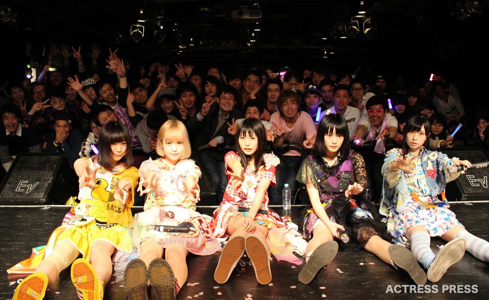 まねきケチャ・タワーレコード渋谷店 ライブ・ファン 2016年3月21日