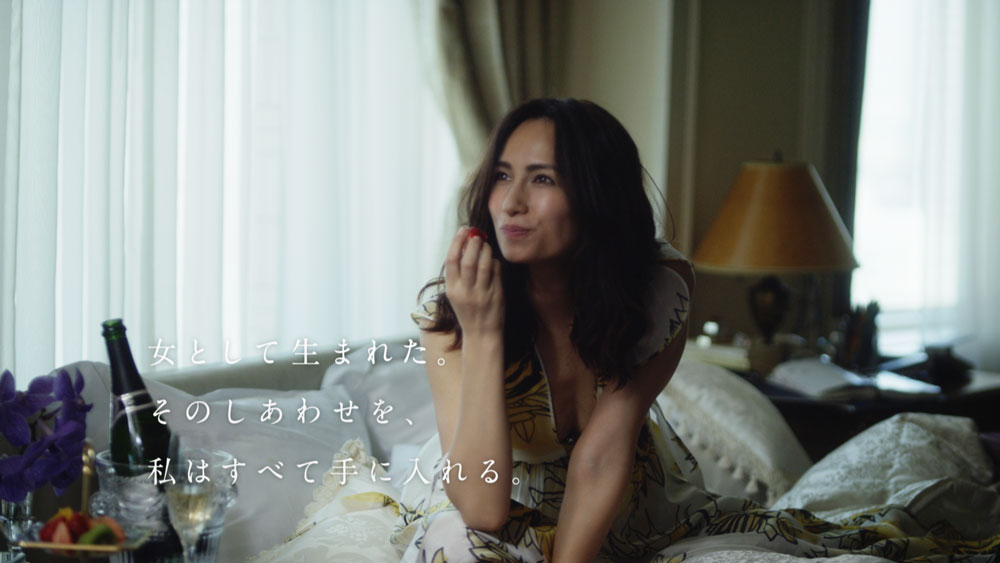 佐田真由美・LITS CM「私のしあわせ」篇