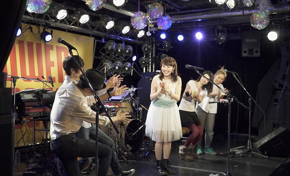 Saku「春色ラブソング」発売記念ワンマンライブ @タワレコ渋谷 2016年3月12日