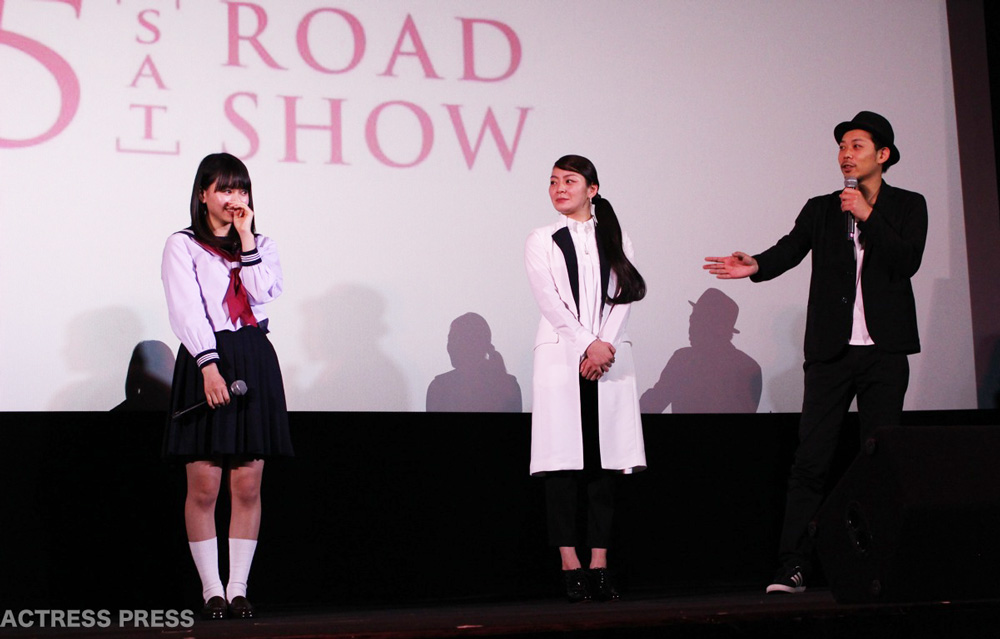 山本舞香、田畑智子、ウエダアツシ監督 映画『桜ノ雨』学生限定完成披露試写会
