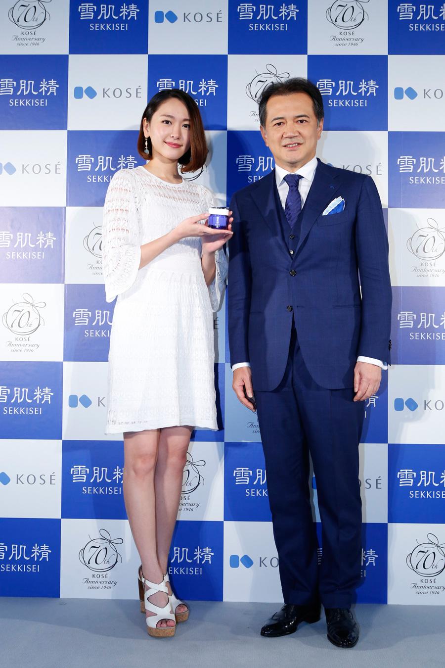 新垣結衣 雪肌精 2016春新商品イベント