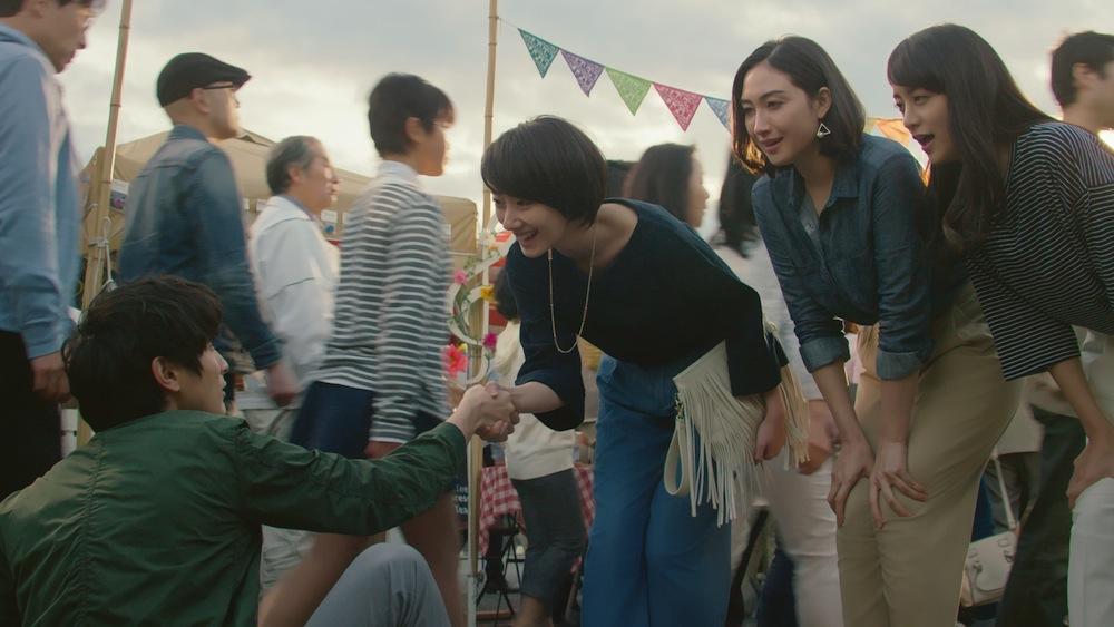 ジーユーTVCM 香椎由宇・波瑠・山本美月