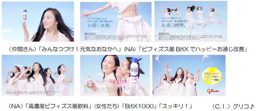 仲間由紀恵『高濃度ビフィズス菌飲料BifiX1000』新CM
