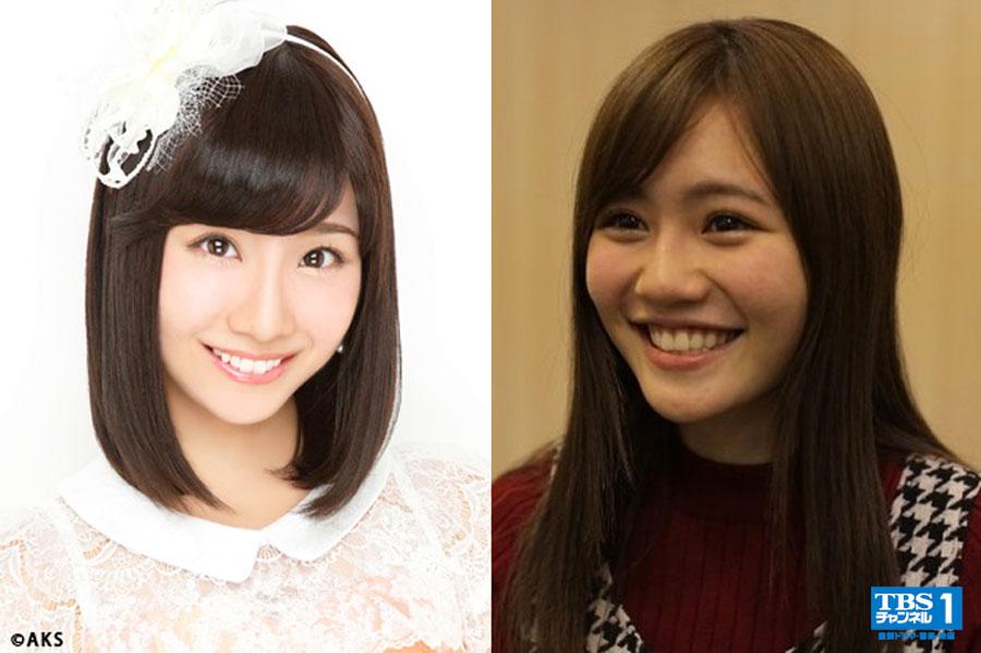 AKB48・込山榛香 SKE48・柴田阿弥