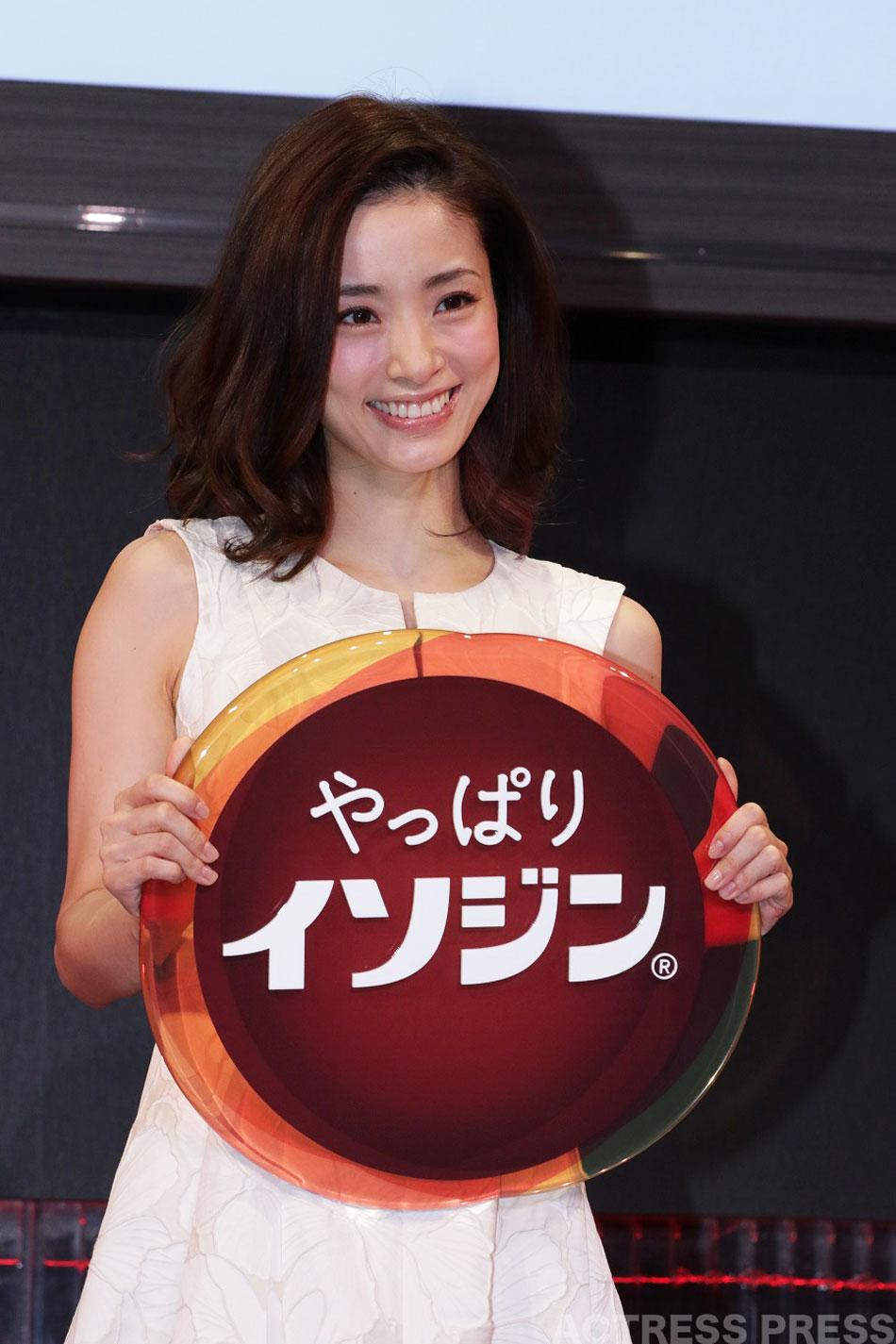 上戸彩 イソジン 発表会 20160405