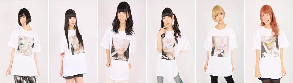 「でんぱ組.inc×SPINNSコラボアイテム」Tシャツ