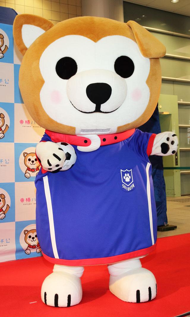 東横ハチ公 ファッション サッカー ブルー