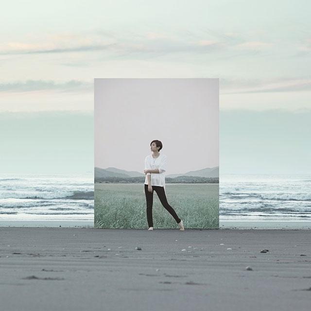 HARUHI「ひずみ」(通常版)アートワーク