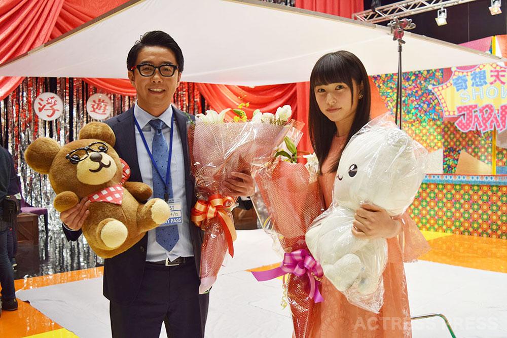 桜井日奈子&矢作兼-白猫プロジェクトCM