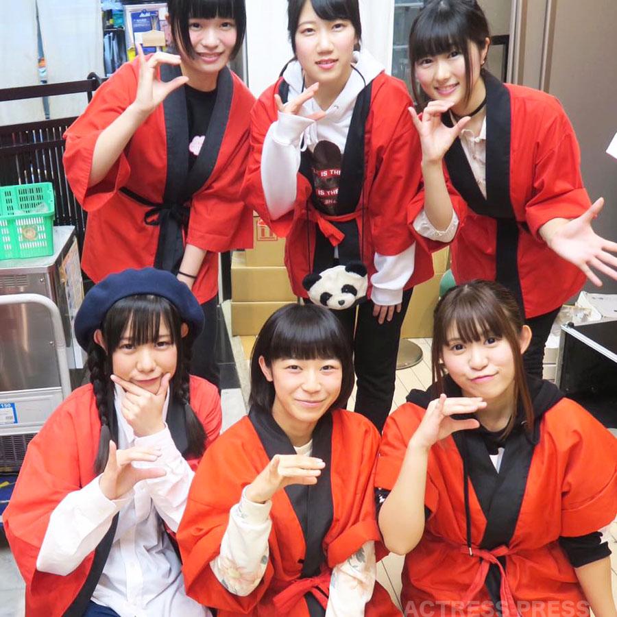 お寿司屋さんプロデュースのアイドル「アイドル教室」ステージ・リニューアル 2016年