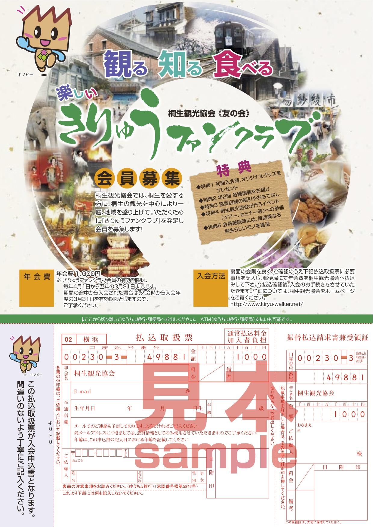 きりゅうファンクラブ(群馬県桐生市)