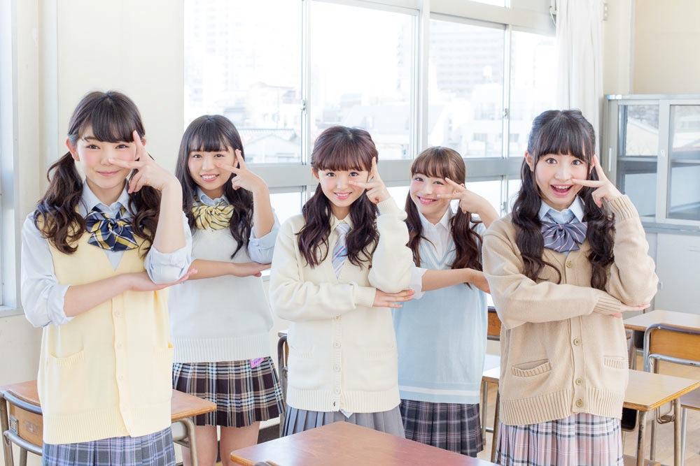 平塚日菜、大原優乃(Dream5)、関りおん、バーンズ・エマ、其原有沙(乙女新党)