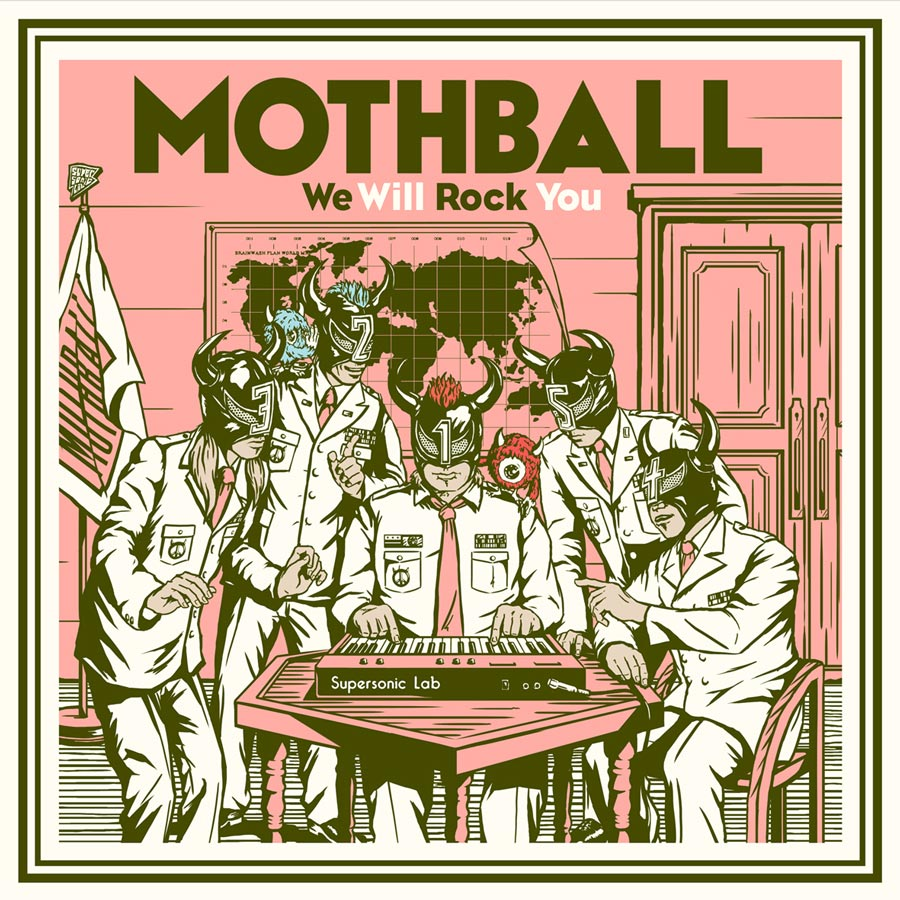 MOTHBALL「We Will Rock You」SAKURA