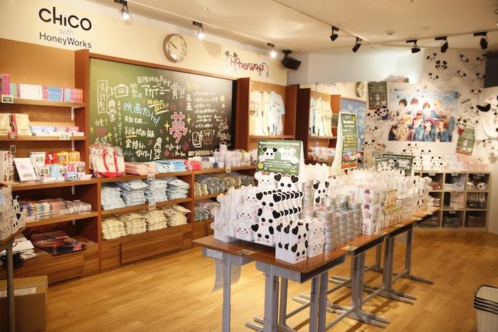 SHIBUYA109 「HoneyWorks POPUP SHOP」