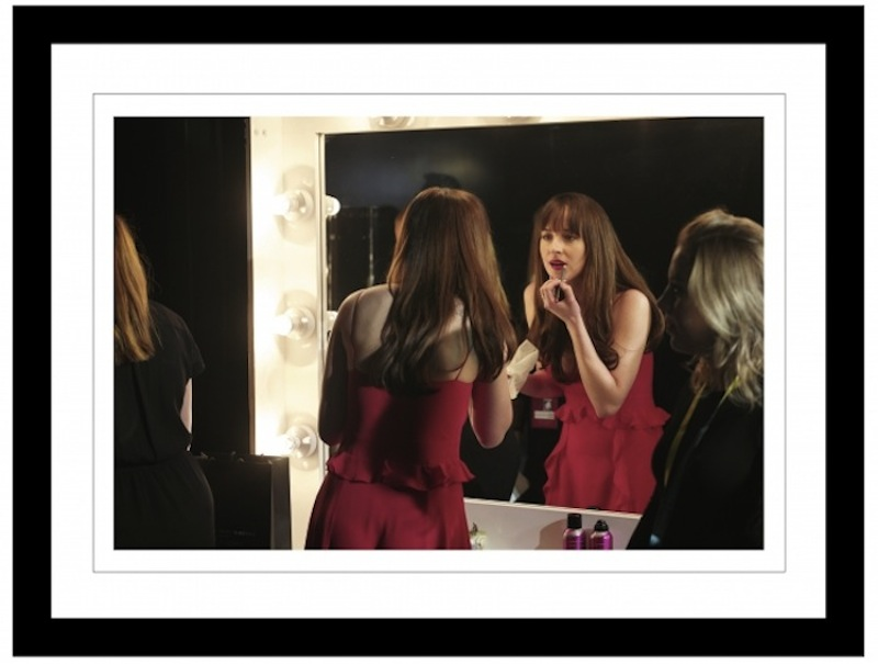 Dakota Johnson-Backstage British Academy of Film and Television Arts