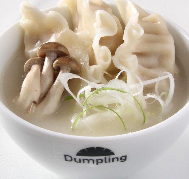 コラーゲンたっぷり白湯(パイタン)スープ餃子