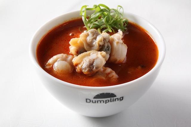 具沢山ブイヤベースのスープ餃子