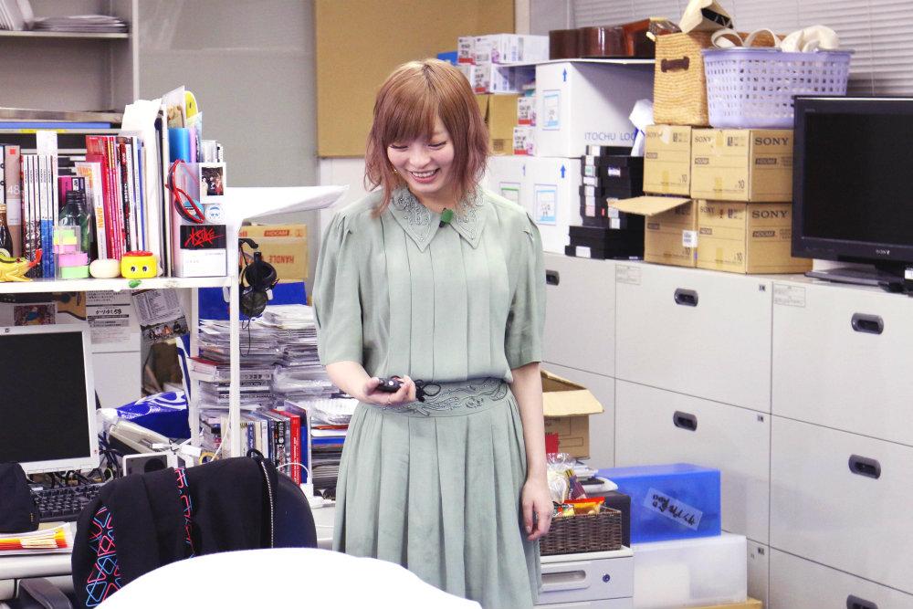 きゃりーぱみゅぱみゅ・なんだこれTV@スペースシャワーTV本社オフィス