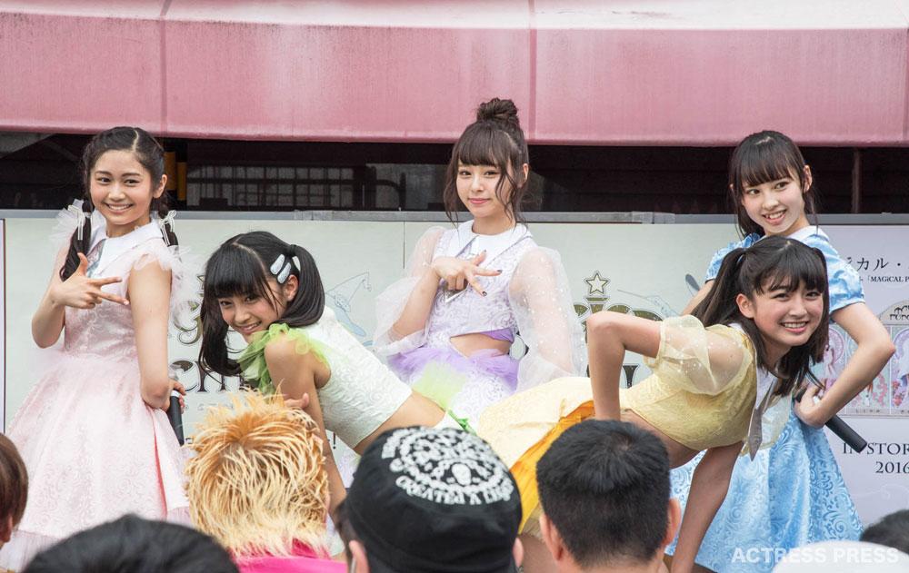 マジカル・パンチライン 渋谷マルイ屋上特設ステージ ライブ