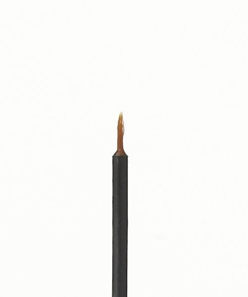 塗りやすい細い筆