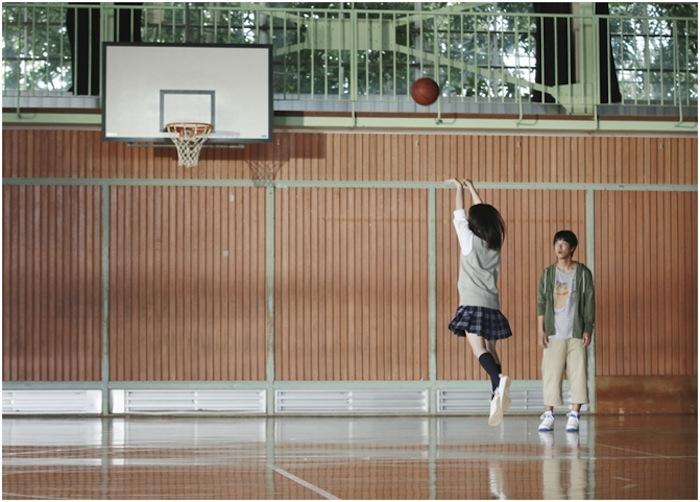 広瀬すず・バスケットボール シュート