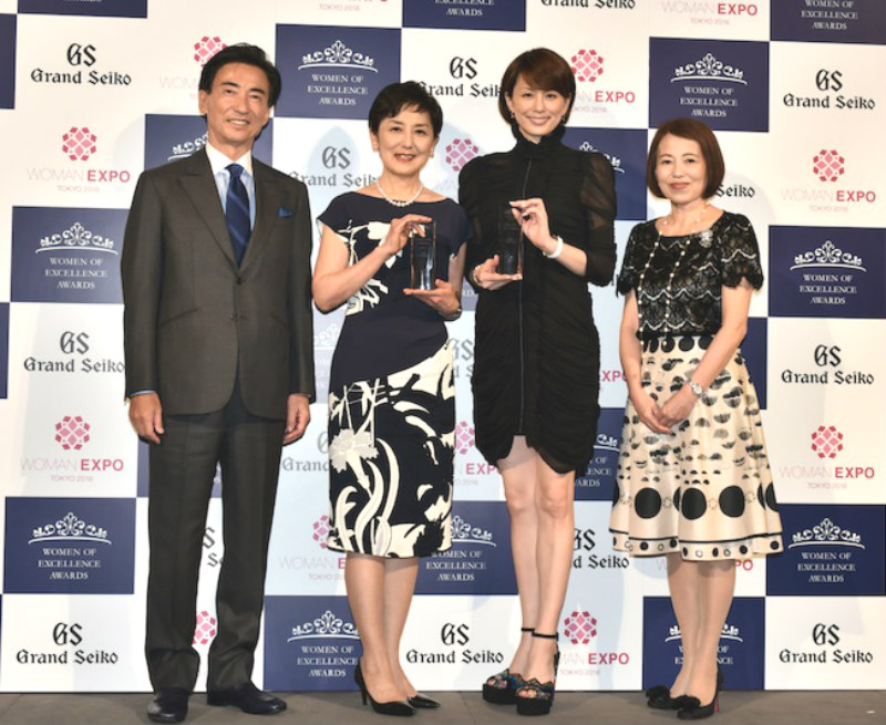米倉涼子、国谷裕子 第2回Women of Excellence Awards presented by Grand Seiko